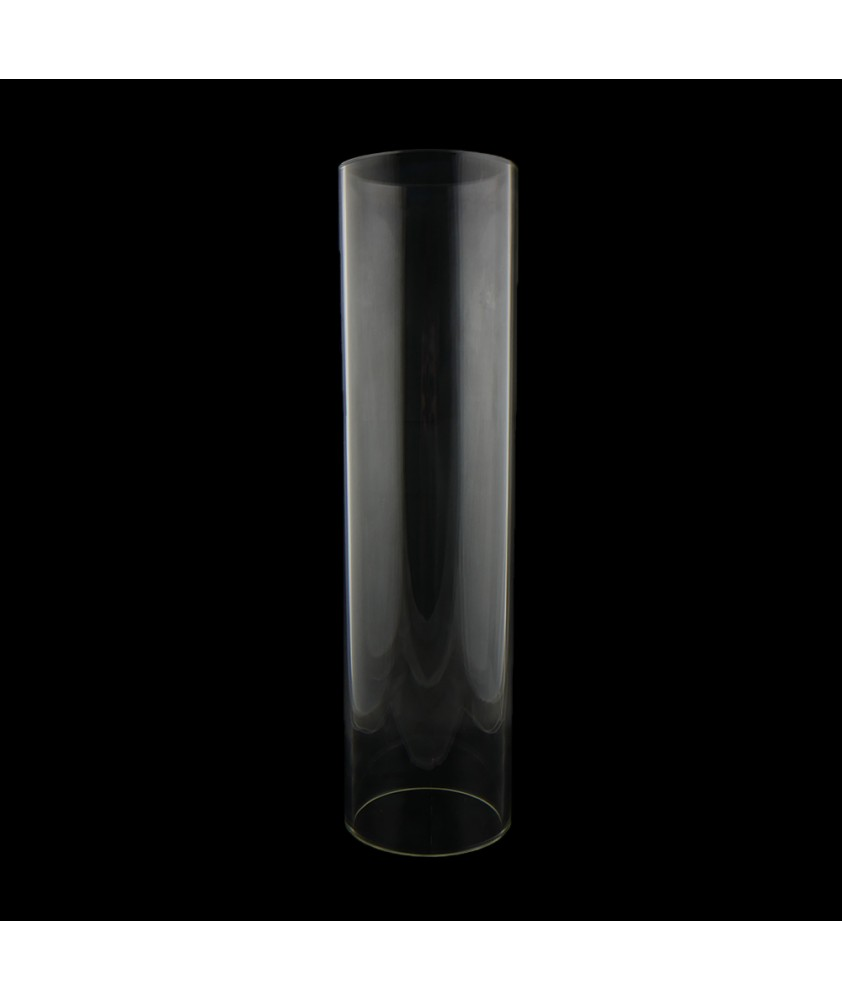 375mm Clear Cylinder with 100mm Base Diameter