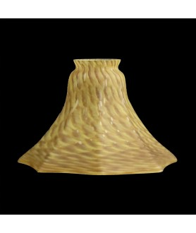 Mottled Brown Tulip Shade with 55mm Fitter Neck