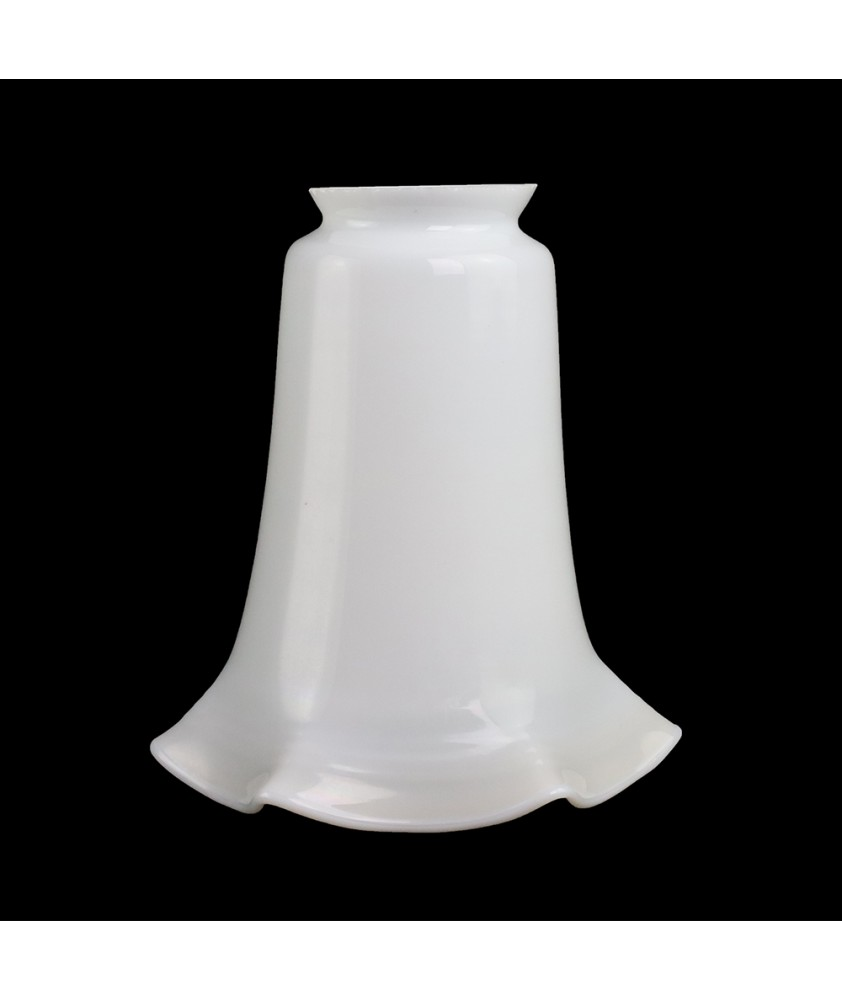 Opal Tulip Shade with 57mm Fitter Neck