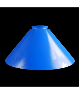 240mm Blue Coolie Light Shade with 57mm Fitter Neck