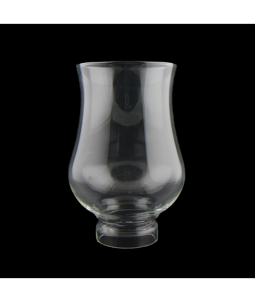 Fluted Ship's Oil Lamp Chimney with 55mm Base