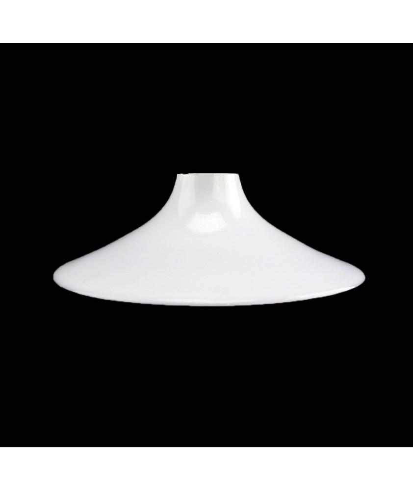 185mm Opal Coolie Light Shade  for E27 Bulb Holder (40mm Fitter)