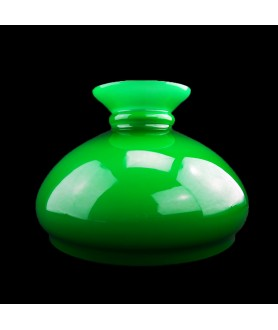 245mm Base Aladdin Lamp Vesta shade - Green .