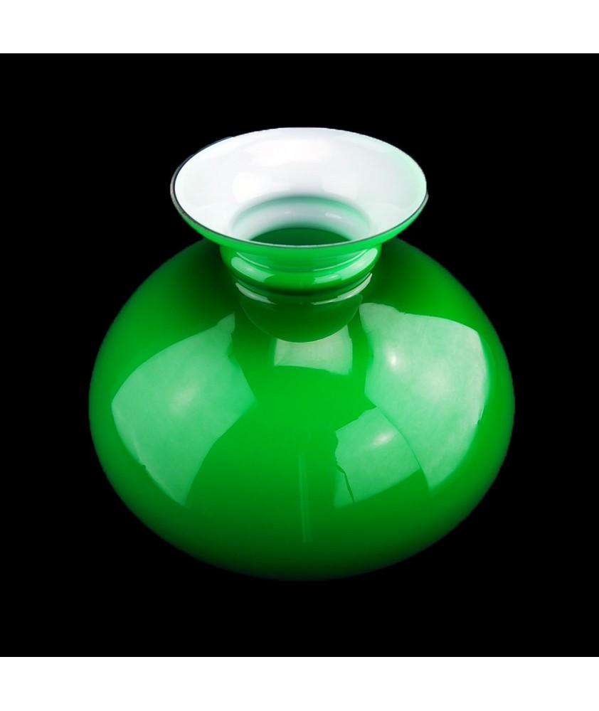 245mm Base Green Aladdin Lamp Vesta shade