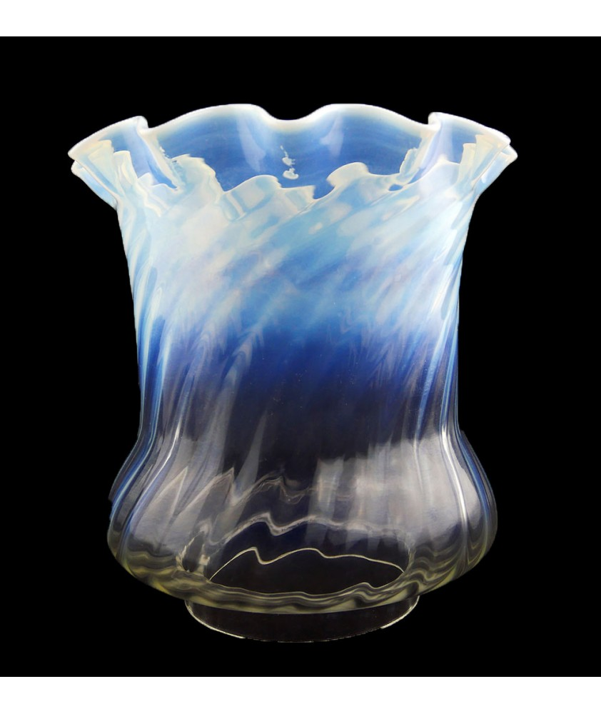 Superior Clear to Opal  Tulip 100mm Base