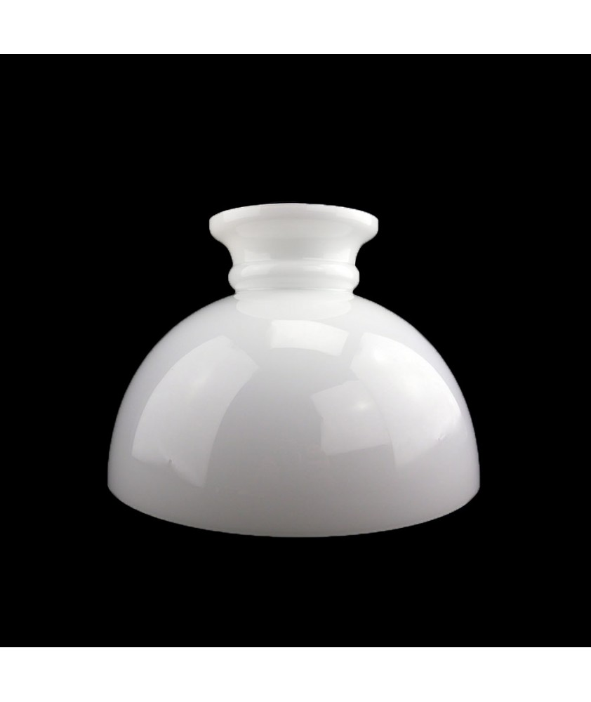 275mm Base Original Dome Opal Oil Lamp Shade