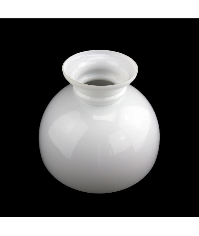 300mm Opal Oil Lamp Dome Shade