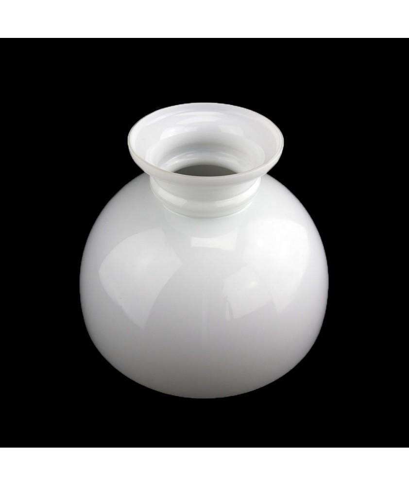 290mm Base Opal Oil Lamp Dome