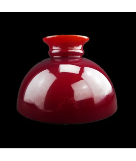 245mm Aladdin Red Oil Lamp  Dome