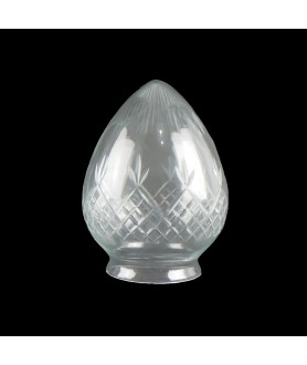 Clear Cut Pineapple Acorn with 80mm Fitter Neck