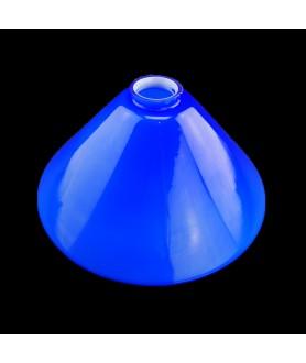295mm Cobalt Blue Coolie Light Shades with 57mm Fitter Neck