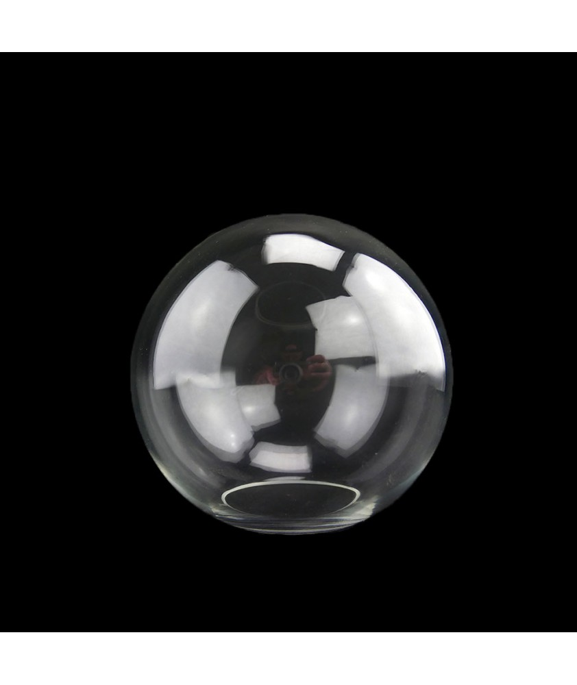 150mm Clear Globe Light shade with 65mm Fitter Hole