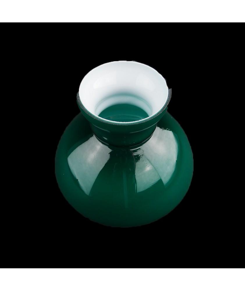 Vintage Green Vesta Shade 125mm base