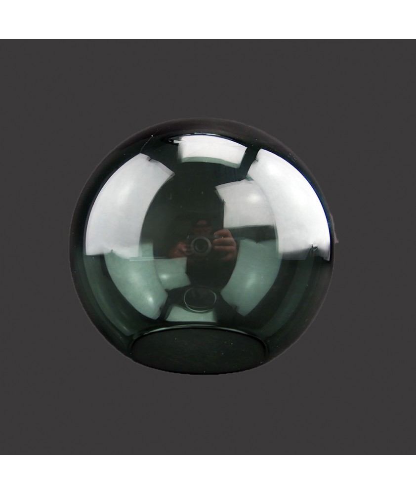 150mm Smoked Glass Globe 40mm Fitter Hole and 100mm Second Hole