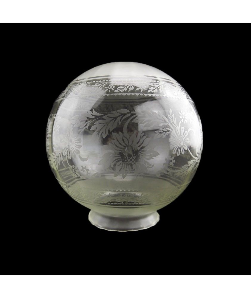 200mm Christopher Wray Patterned Globe with 100mm Neck