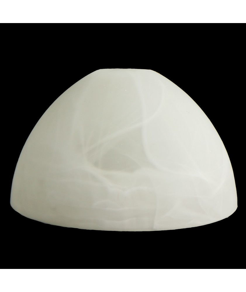 Marble Patterned Half Dome Ceiling Light Shade with 28mm Fitter Hole