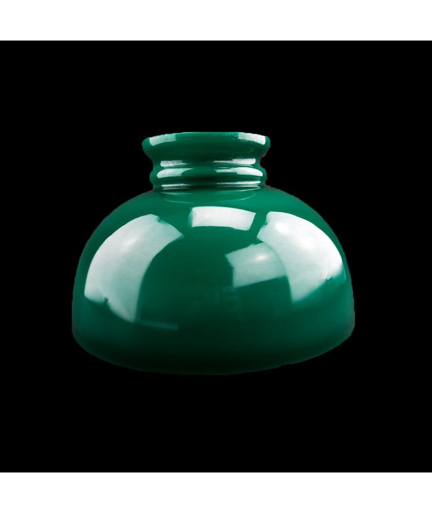 Original Green Oil Lamp Dome :250mm Base