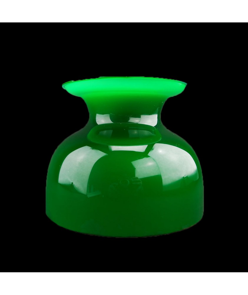 Original Green Student Lamp Shade with 150mm Base