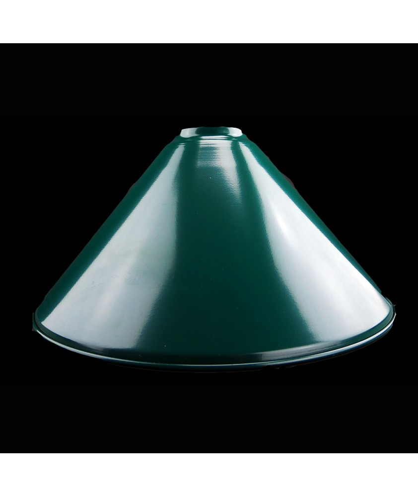 380mm Metal Coolies Light Shades  in Various Colours with 40mm Fitter Neck