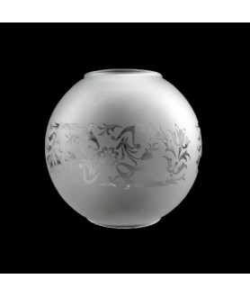 130mm Kosmos Frosted  Oil Lamp Globe