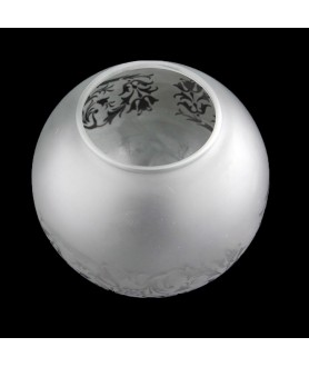 130mm Kosmos Frosted Oil Lamp Globe with 60mm Base