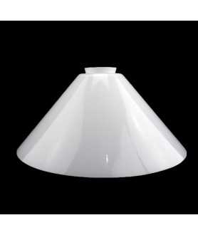 295mm Opal Coolie Light Shades with 57mm Fitter Neck