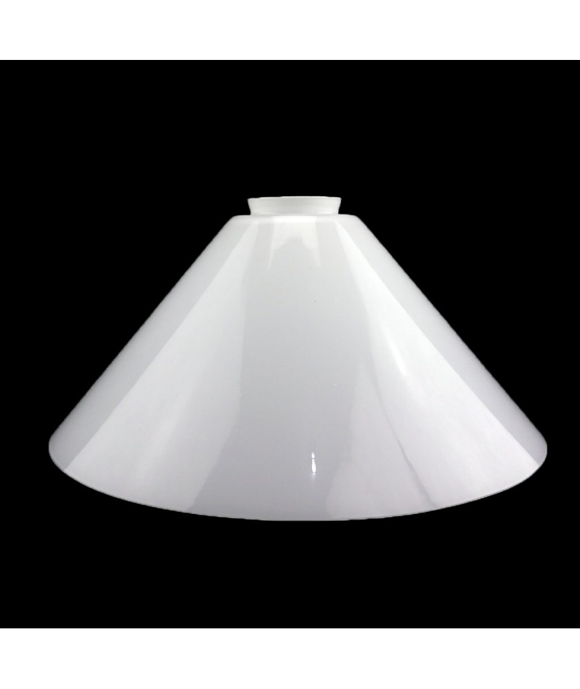 245mm Opal Coolie Light Shade with 57mm Fitter Neck