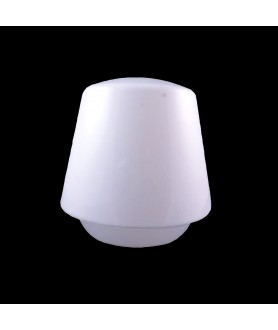 White Ceiling Shade with 52mm Fitter Hole