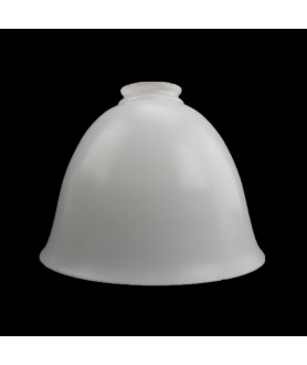 155mm Opal Bell Diffuser Light Shade  with 55mm Opening