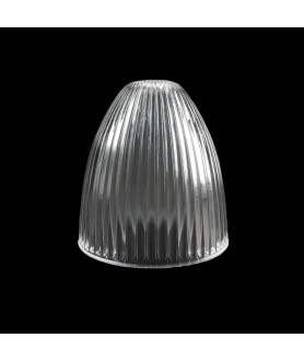 140mm Prismatic Light Shade with 30mm Fitter Hole (Clear, Frosted or Amber)