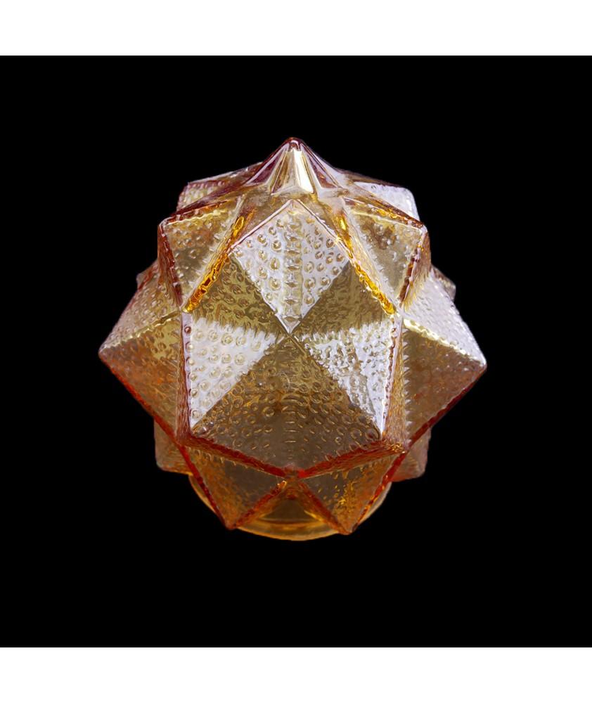 Clear Cognac Star Shade