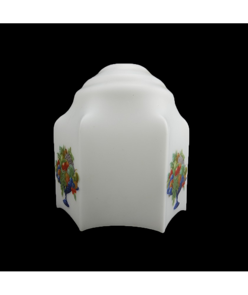 155mm Retro Shade with Fruit Motif and 30mm Fitter Hole