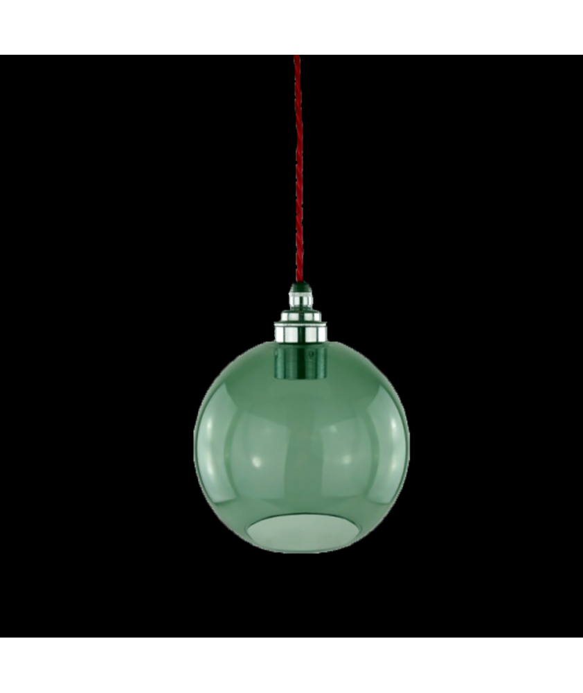 150mm Smoked Glass Globe Pendant