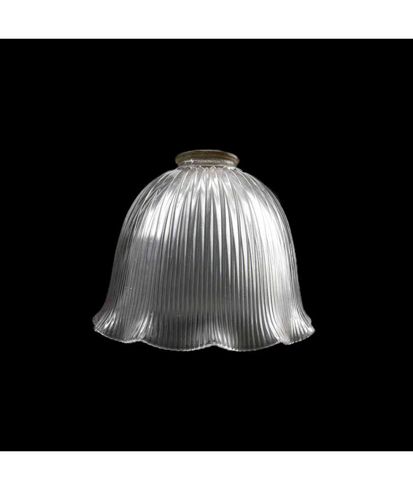 Original Holophane Tulip Light Shade with 55mm Fitter Neck