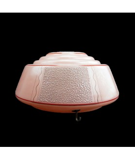 300mm Pink Ceiling Shade