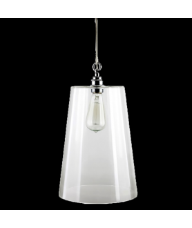 Balmoral Pendant Light  in Clear or Opal
