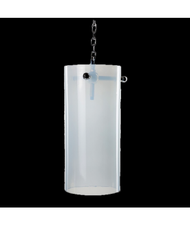 Falkland Opalescent Cylinder Pendant Light
