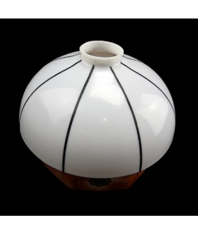 Art Deco Mushroom Light Shade with 55-57mm Fitter Hole