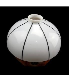 Art Deco Mushroom Light Shade with 55-57mm Fitter Hole