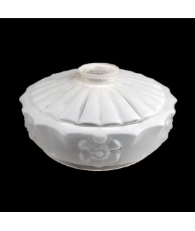 220mm Frosted Ceiling Light Shade with 57mm Fitter Neck