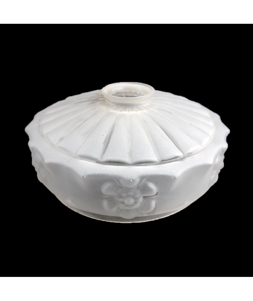 220mm Frosted Ceiling Shade with 57mm Fitter Neck