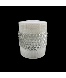 120mm Retro Crystal Ceiling Light Shade with 30mm Fitter Hole