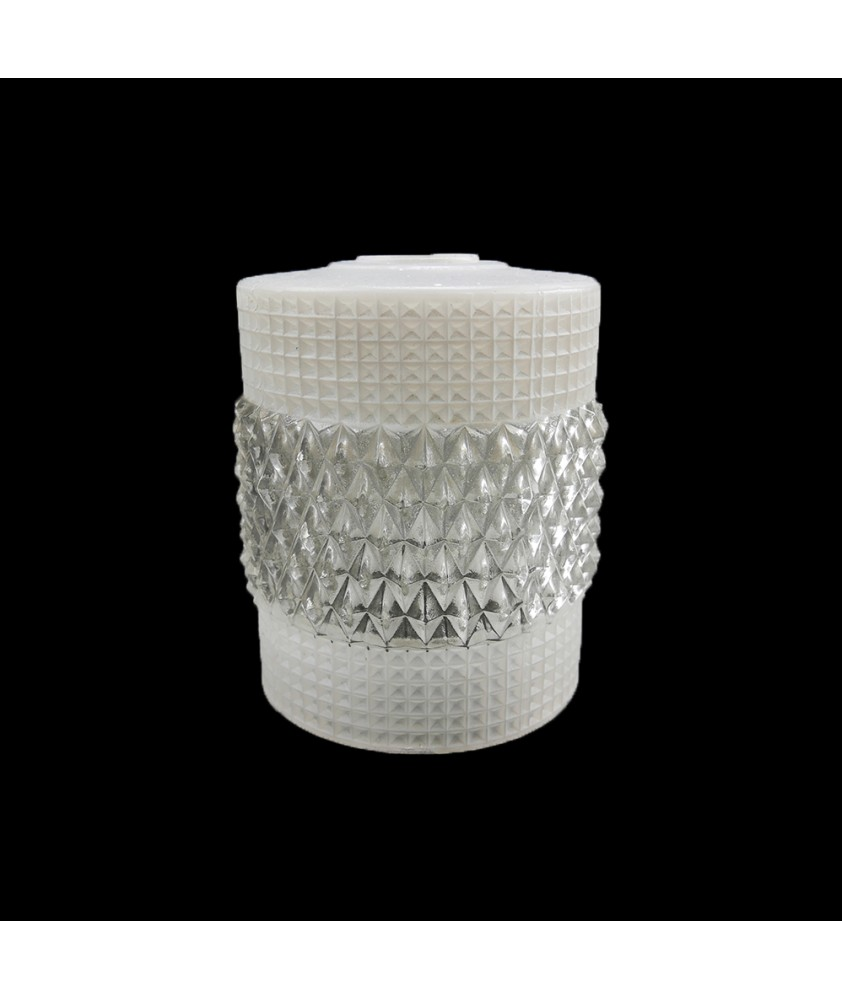 120mm Retro Crystal Shade with 30mm Fitter Hole