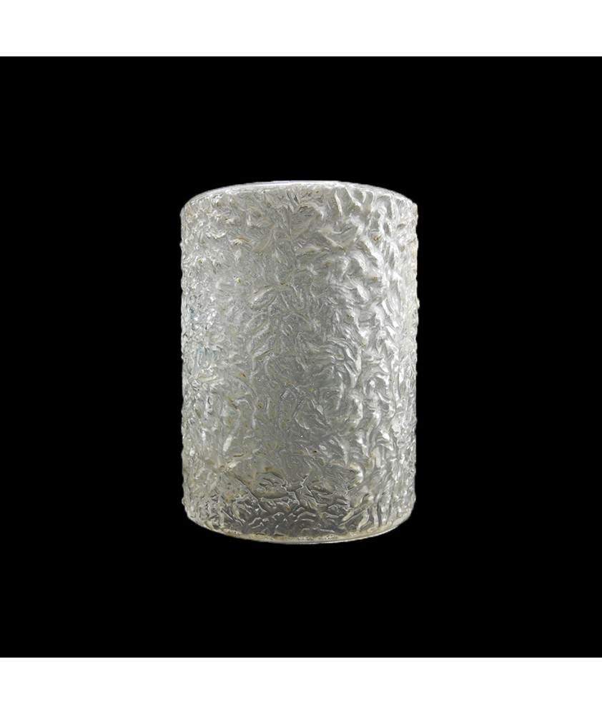 140mm Textured Glass Shade with 30mm Fitter Hole