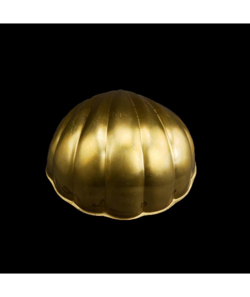 Art Deco Brass Shell Light Shade