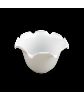 Opal White Oil Lamp Shade