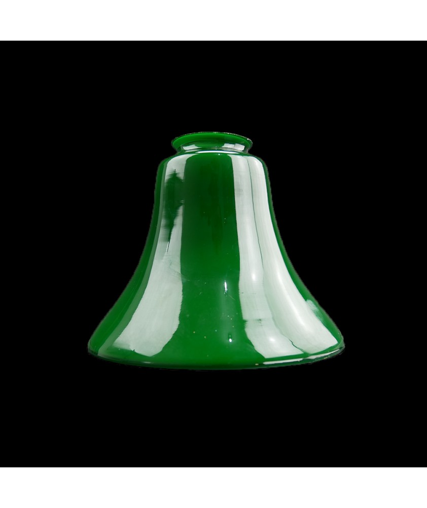 Green Tulip Light Shade with 55mm Fitter Neck