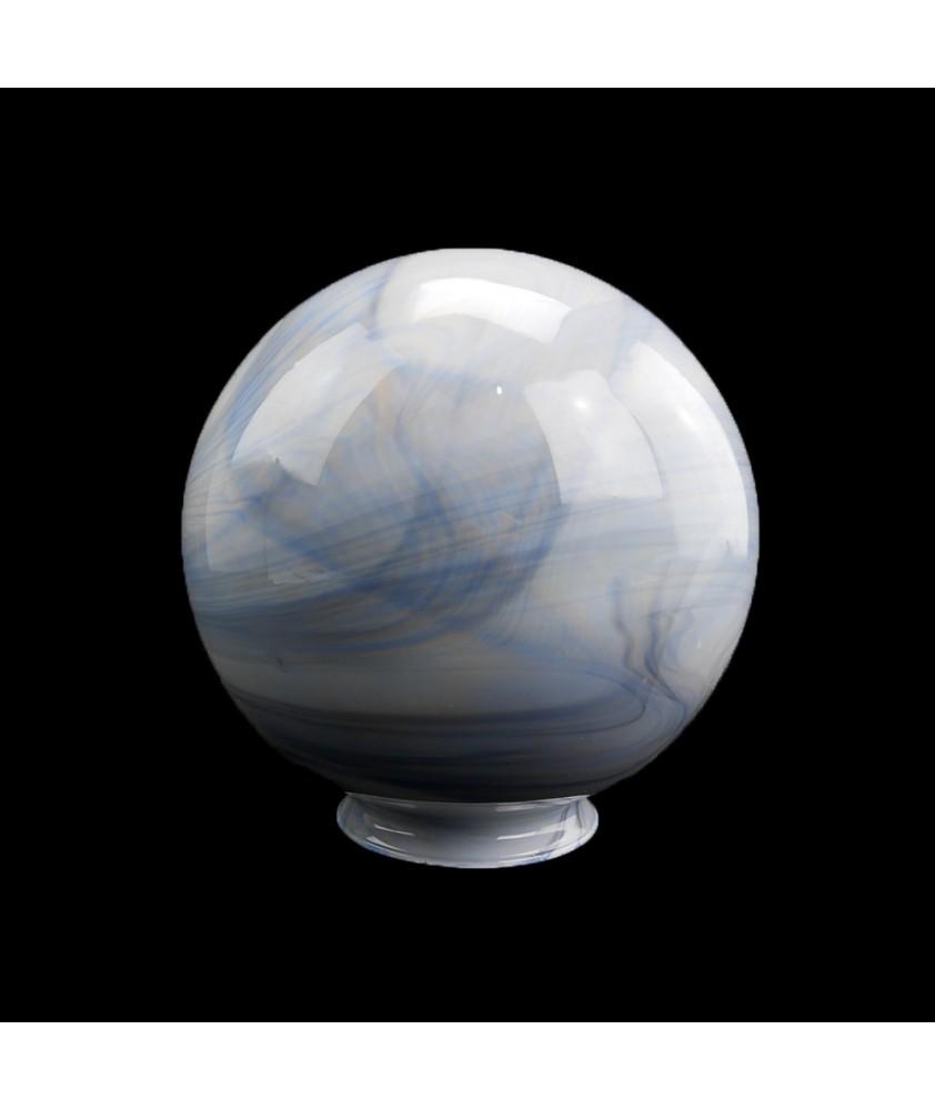 200mm  Christopher Wray Blue Marble Globe Light Shade