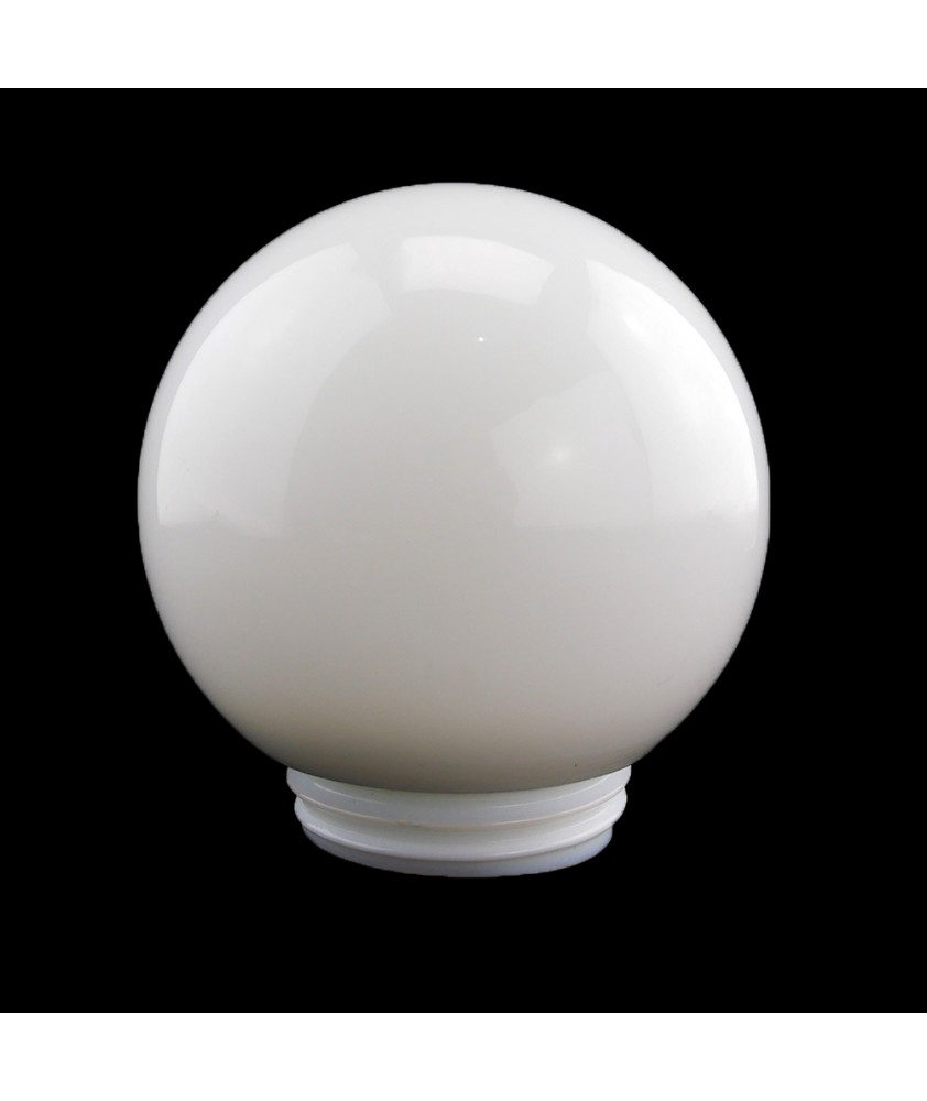 250mm Opal Globe with 100mm Fitter Screw Neck