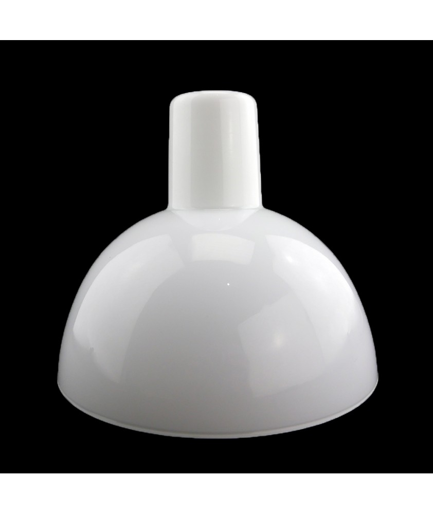 200mm Long Neck Opal Diffuser Light Shade with 30mm Opening